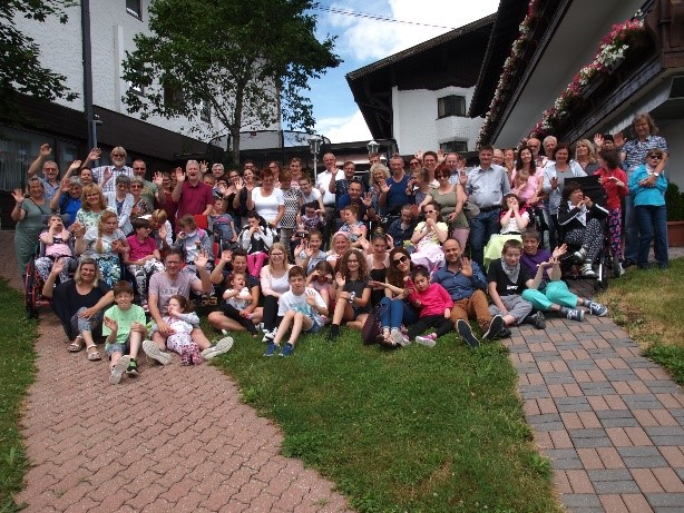 Austrian Rett Syndrome Association (ÖRSG)  Family Weekend,   June 21 – 23, 2019