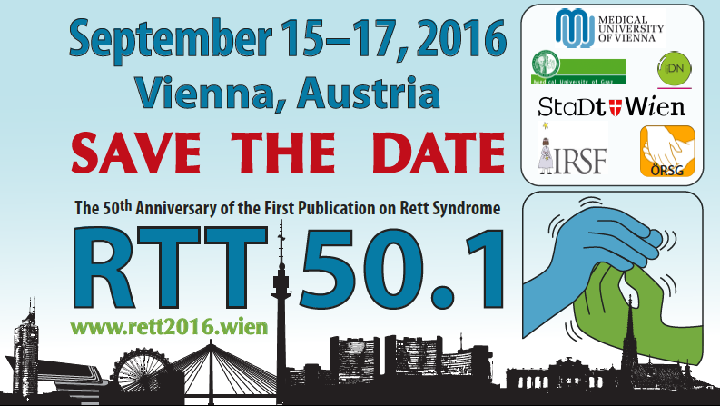 RTT50.1: Celebrating the 50th anniversary of the first publication on Rett Syndrome by Andreas Rett