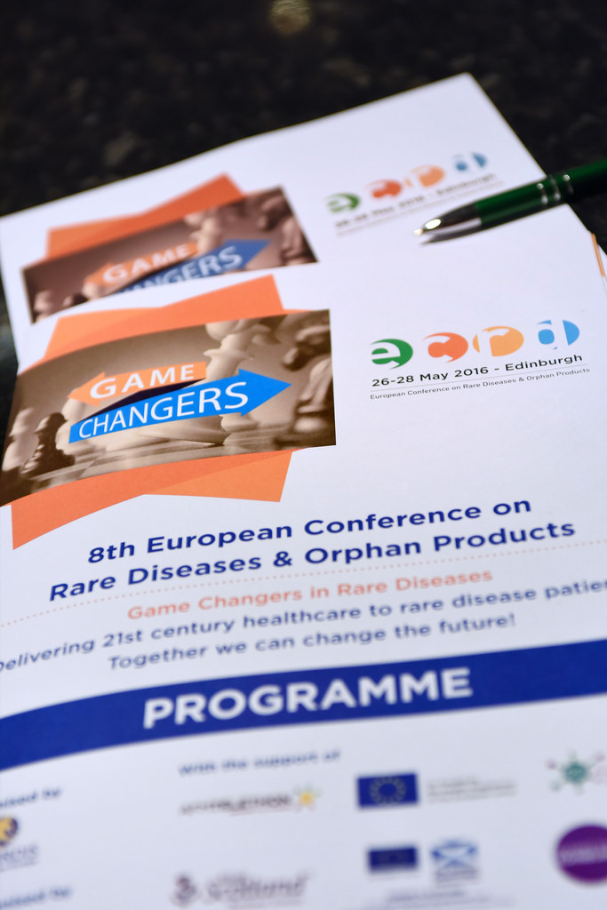 European Conference on Rare Diseases and Orphan Products 26-28 May 2016 (Edinburgh)