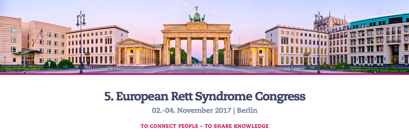 European Rett Syndrome Congress, Berlin: connecting people – sharing knowledge