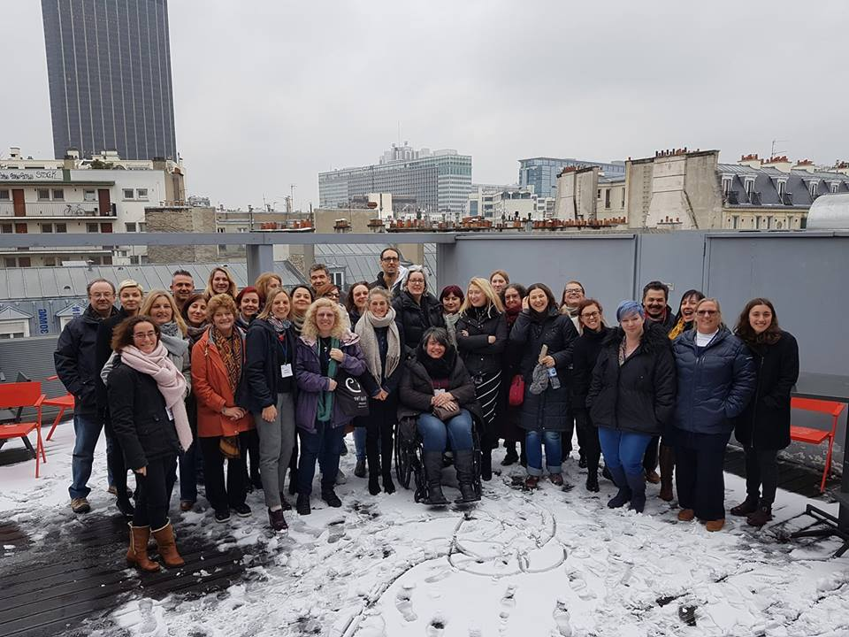 RSE is represented at the inaugural Eurordis Winterschool Paris, march 2018