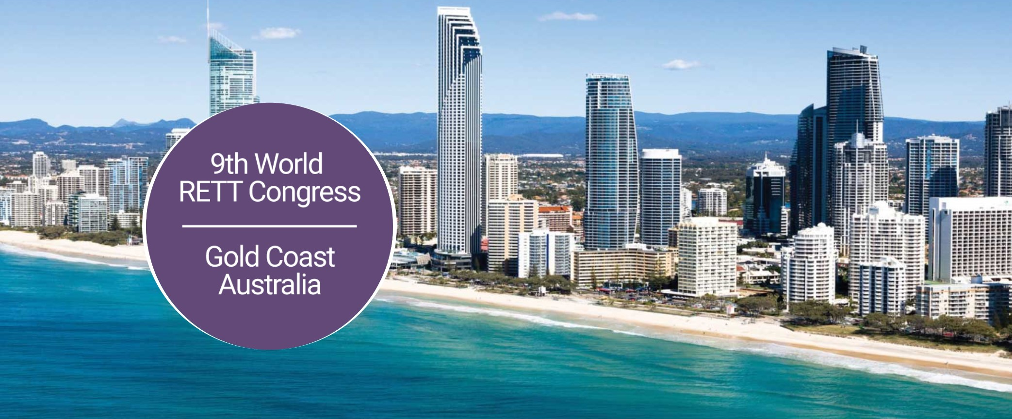 Update on the WORLD RETT SYNDROME CONGRESS to be held in Surfers Paradise from 30 September to 3 October 2020