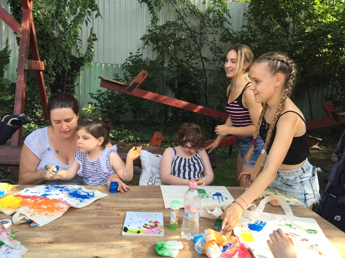 Both Artistic and Therapeutic Rett Summer Camps in Hungary organized by Hungarian Rett syndrome Foundation