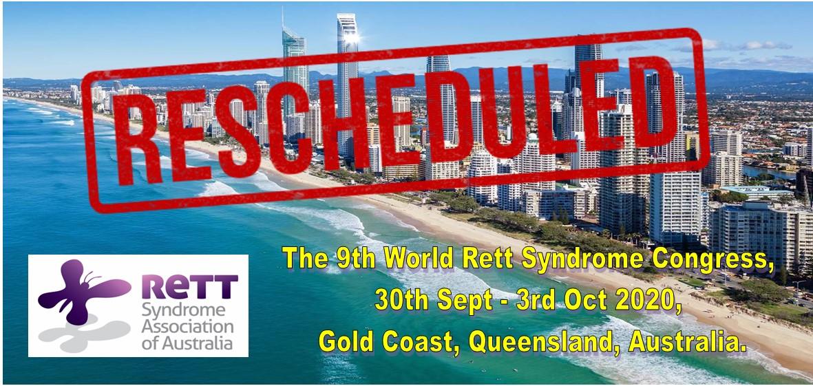 World Rett Syndrome Congress Rescheduled