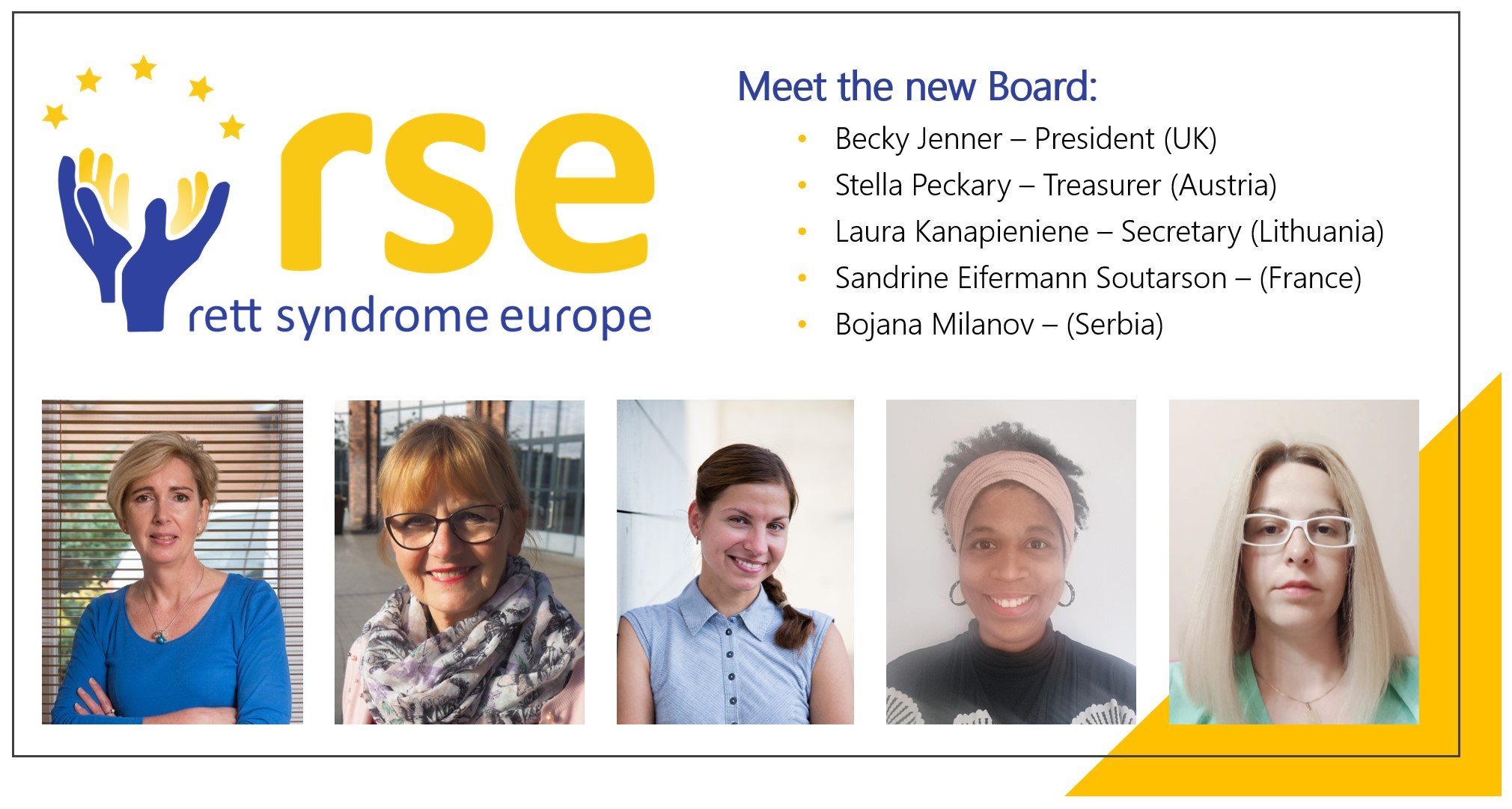 RSE executive board changes