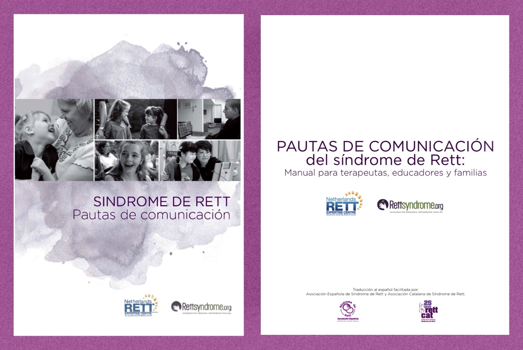 Rett Syndrome Communication Guidelines are now available in English and Spanish